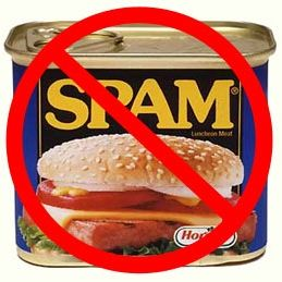 All spam is bad... from a can or on a blog.