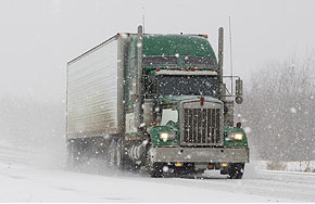 Semi Truck Travel Ban on NYS Thruway Lifted After Winter Weather Event in Western NY